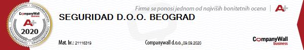 Seguridad Beograd Bonitet A+